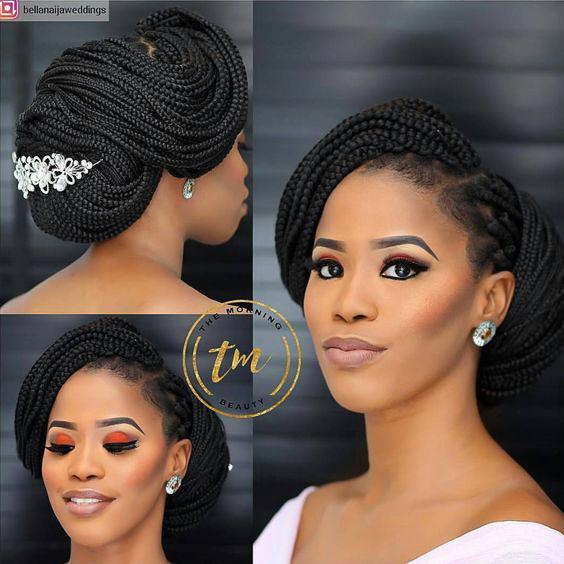 Wedding hair for black women 3