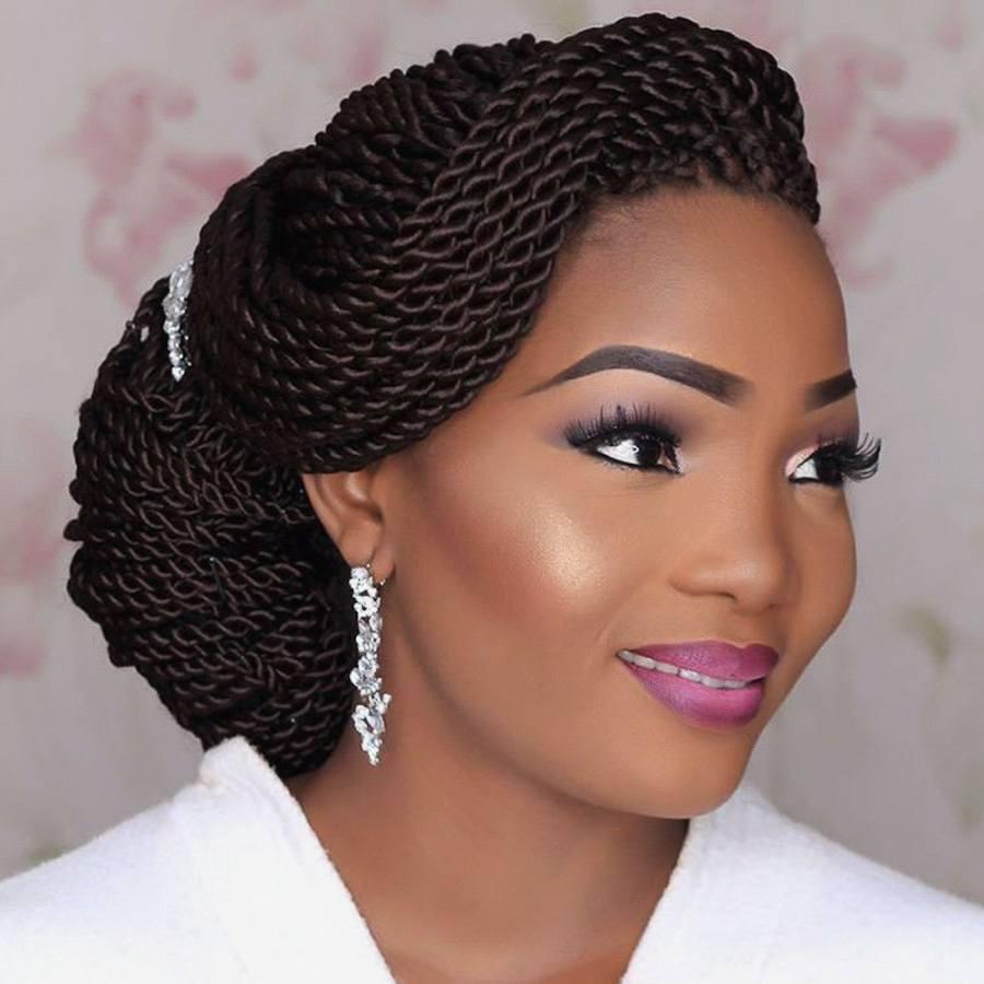 Wedding hair for black women 31