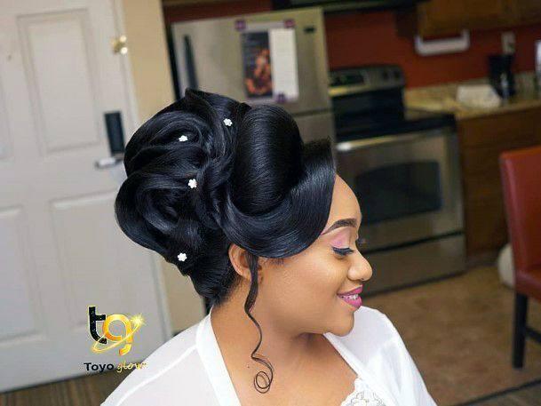 Wedding hair for black women 32