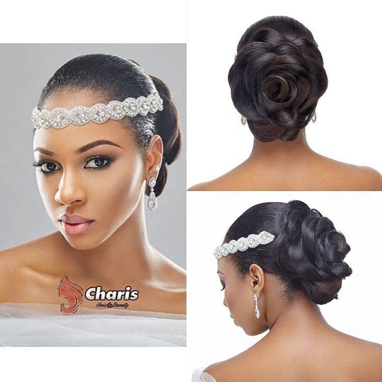 Wedding hair for black women 33