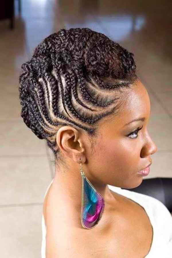 Wedding hair for black women 35