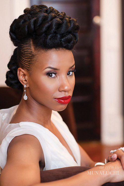 Wedding hair for black women 38