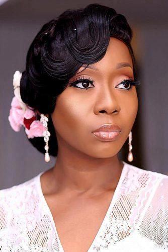 Wedding hair for black women 39