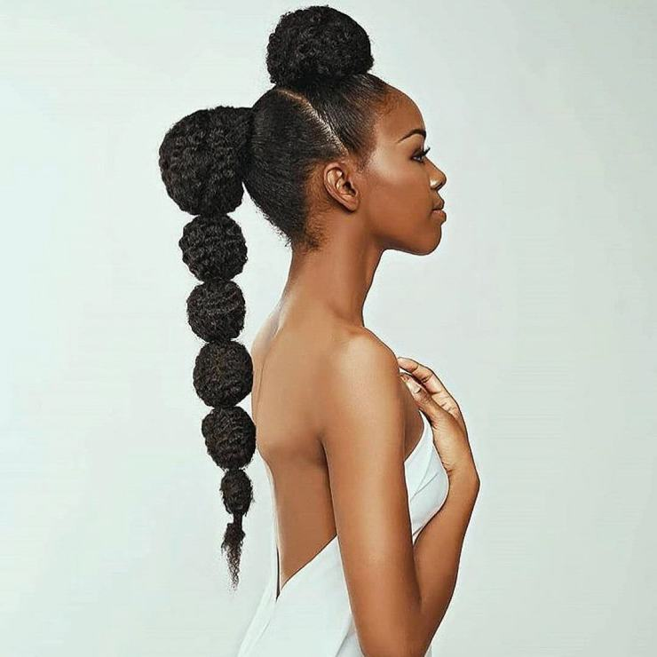 Wedding hair for black women 4