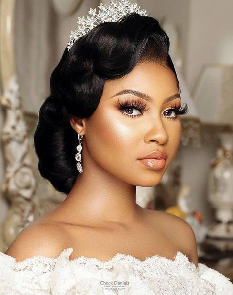 Wedding hair for black women 40