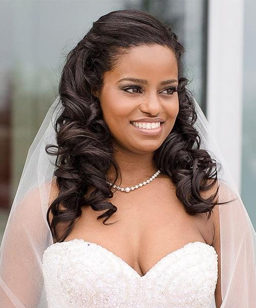 Wedding hair for black women 43
