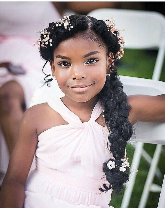 Wedding hair for black women 7