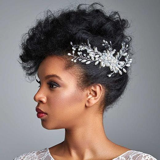 Wedding hair for black women 8