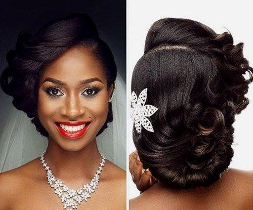 Wedding hair for black women 9