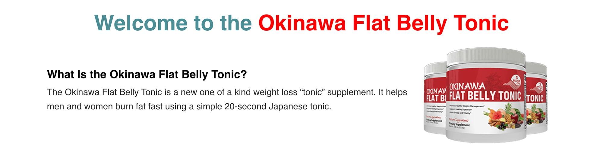 Okinawa Flat Belly Tonic 1