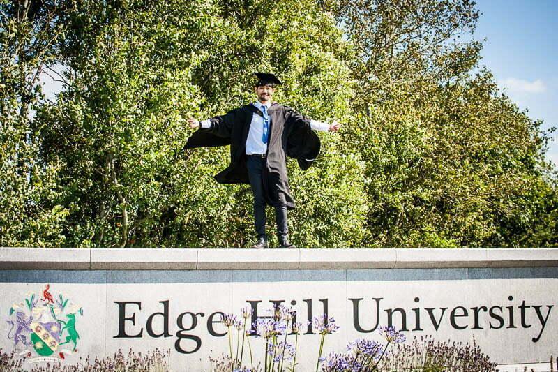 edge hill graduation p 22