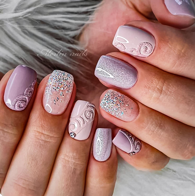 wedding nail ideas 1