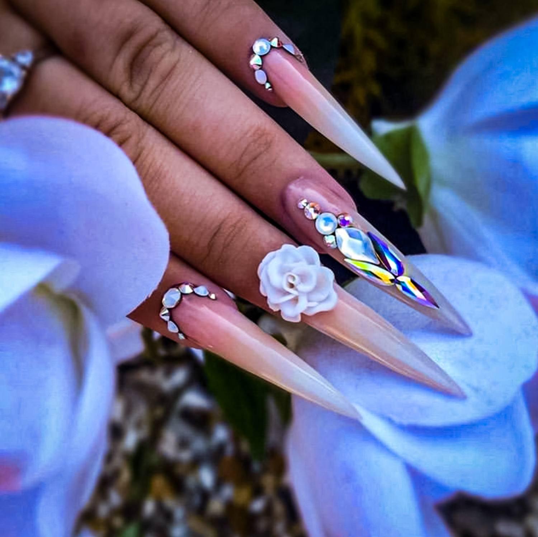 wedding nail ideas 12