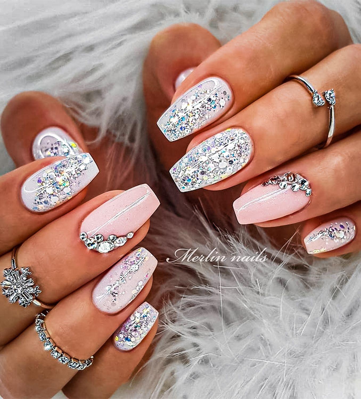 wedding nail ideas 21