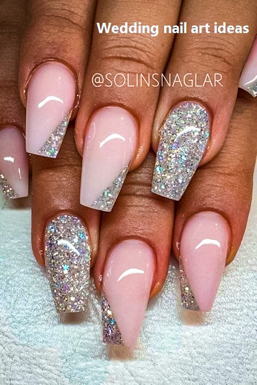 wedding nail ideas 22