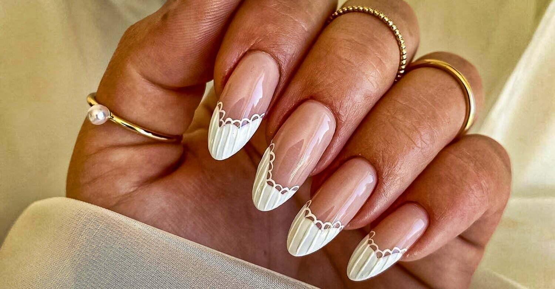 wedding nail ideas 23