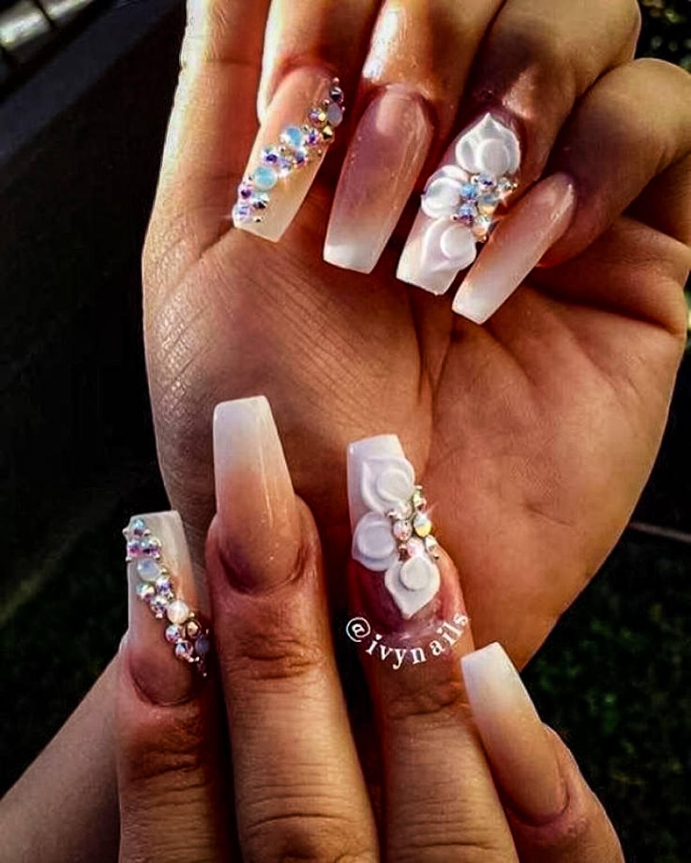 wedding nail ideas 24