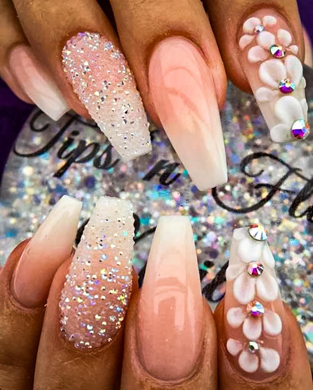 wedding nail ideas 25