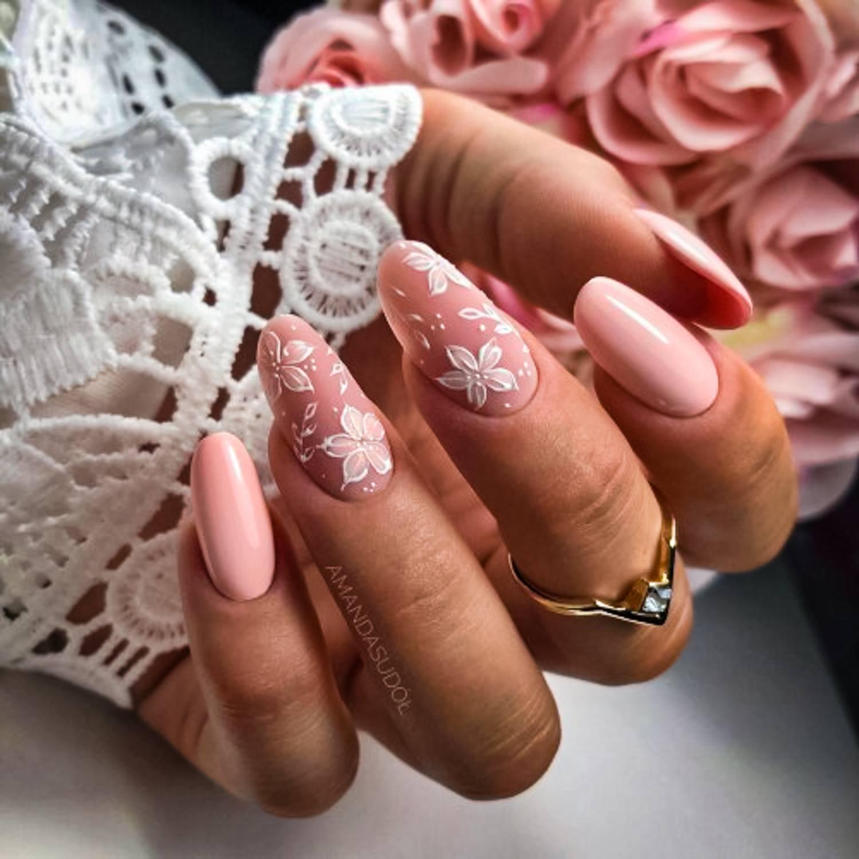 wedding nail ideas 26