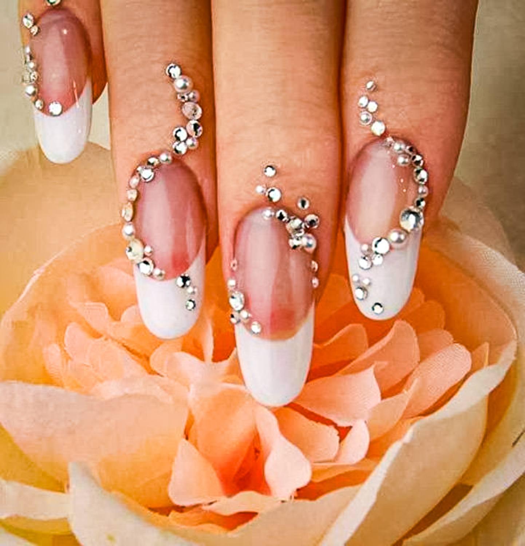 wedding nail ideas 27