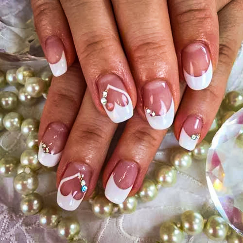 wedding nail ideas 28